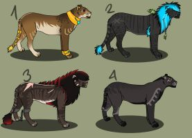 Lion Adopts 2 by Mustang-ADOPTS