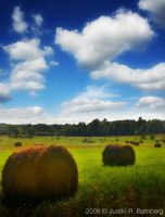 Hay Field by jrbamberg