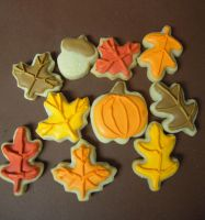 Mini Fall Cookie closeup by MomentoMori08