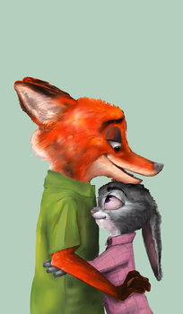 Nick And Judy by taidoes