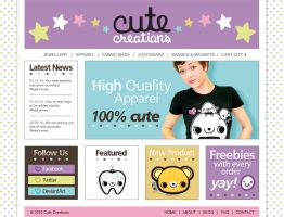 CUTE CREATIONS: Website by Cute-Creations