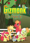 A Gizmonk in Ponyville - Poster by Inkheart7