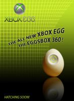 XBOX EGG EGGSBOX advertisement by FrozenPinky