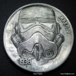 Star Wars Stormtrooper Carved Nickel  Shaun Hughes by shaun750