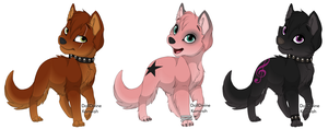 Wolf Adopts- CLOSED by urging