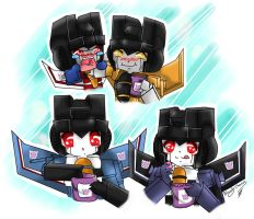 TF: 4 jet seekers by BloodyChaser
