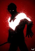 Shadow Of The RED Nightwing by Sno2