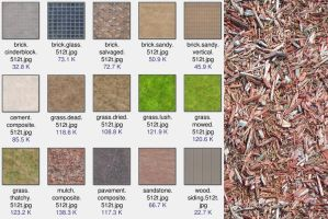 Fifteen-Texture-Tiles-512 by halley