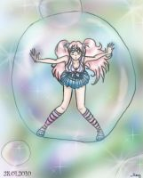 Girl in the bubble o_O by MiuMary