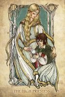 Tarot: The High Priestess by SceithAilm