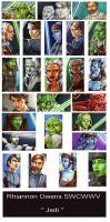 Jedi Widevision cards by Dangerous-Beauty778