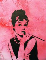 Pink Lace Audrey by F1R3ST0RM24