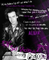 sid vicious pop art by Re-Alise