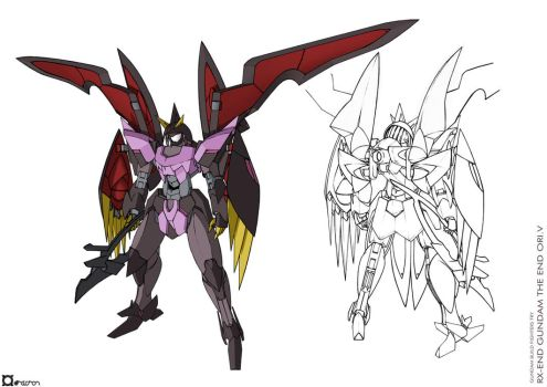 RX-END Gundam The End Ori.V - Uncovered by orihalchon