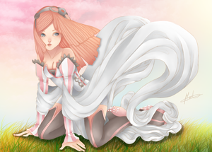 Wind loves me - Colored -