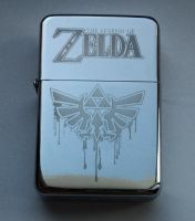 LEGEND OF ZELDA - engraved lighter by Piciuu