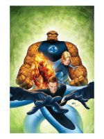 Ultimate Fantastic Four cubee pack by MysterMDD