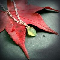Elven Greenleaf Pendant~ by QuintessentialArts