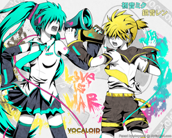 Vocaloid - Love is War by akayashi
