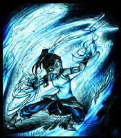 Avatar Korra by WalkingMelonsAAA
