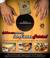 Flyer Fiesta Patrias by krisalva