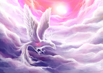 Dream Spirit - Marshmallow Phoenix by Oviot