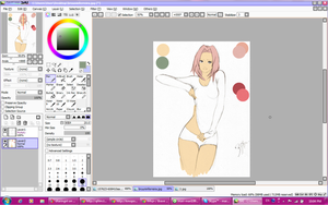 W.I.P-Sakura-chan (version 2) by Sharingirl