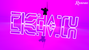 3D | Fishatu's Neon Light - Made by Rexvac by HelpedsGFX