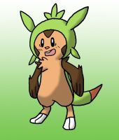Chespin by Kame-Ghost