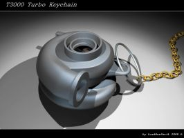 Turbo Keychain by Lorddarthvik
