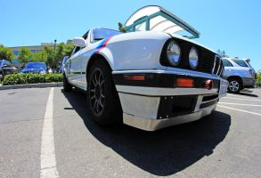 Passenger Side 1991 BMW 318is Coupe by aMorle