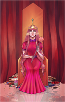Princess Bubblegum by RitsuTainaka13