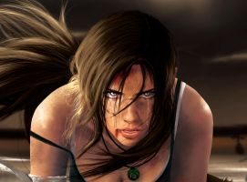 Lara Face Detail by MIKELopez