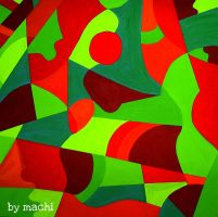 Abstract Complementary Color by 311007