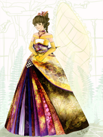 Kirika - Princess Dress by font-street