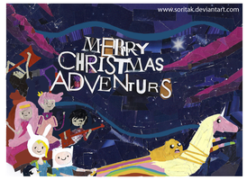 Merry Christmas Adventurers by SoritaK