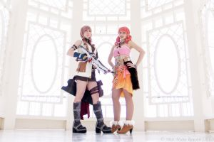 Lightning and Vanille by xwickedgames