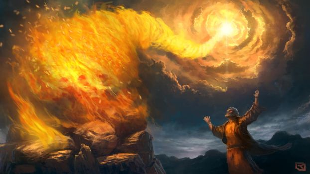 Answered By Fire by Rob-Joseph