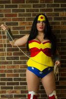 Wonder Woman Cosplay - Lasso of Truth by SparrowsSongCosplay