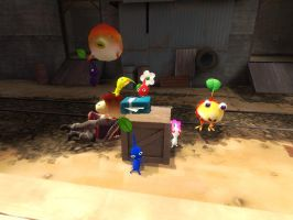 Gmod Pikmin Picture 4 victory by Ryanfrogger