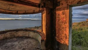 Gun Emplacement on Cramond Island. by BusterBrownBB