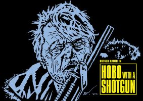 Hobo with a Shotgun - Movie Poster by rekening