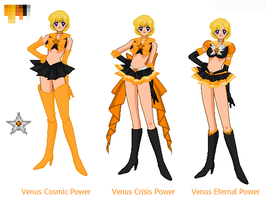 Sailor True Venus by kuloi-no-chloe