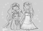 Clothes Swap: My Fave Princesses by Kitratre