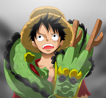Luffy is Back by bocodamondo