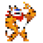 Day #60 - Tony the Tiger by JINNdev