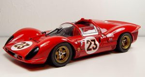 Jouef 1967 Ferrari 330 P4 by Firehawk73-2012