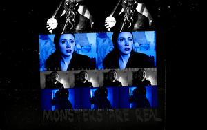 monsters are real - amy pond. by survivekaleidoscope