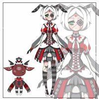Queen of hearts themed Adoptable CLOSED by AS-Adoptables