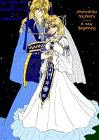 A new Beginning - Our second wedding by YuiHongo--Gi